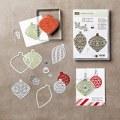 Embellished Ornaments Clear-Mount Bundle