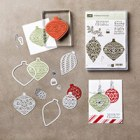 Embellished Ornaments Clear-Mount Bundle