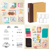 Let's Get Away Project Life Bundle