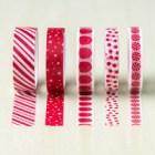 Candy Cane Lane Designer Washi Tape