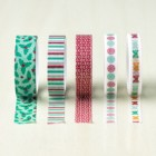 Presents & Pinecones Designer Washi Tape