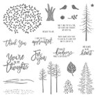 Thoughtful Branches Photopolymer Stamp Set
