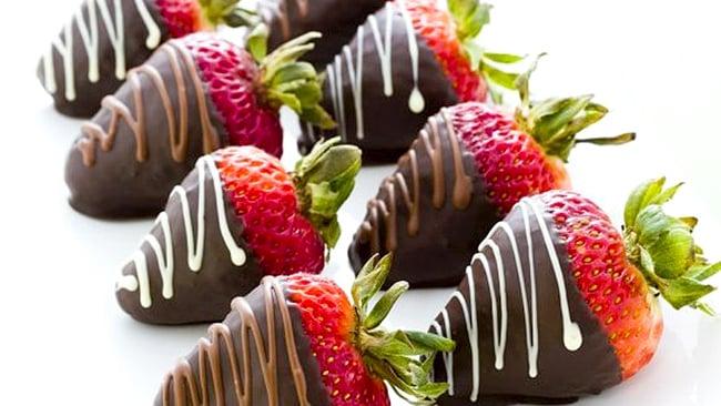 ▷ Frutas con cubierta de chocolate【una delicia】 » Receta Venezolana