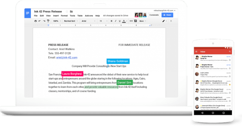 G Suite – Apps, Gmail, Docs, Drive, Calendar and More for Business