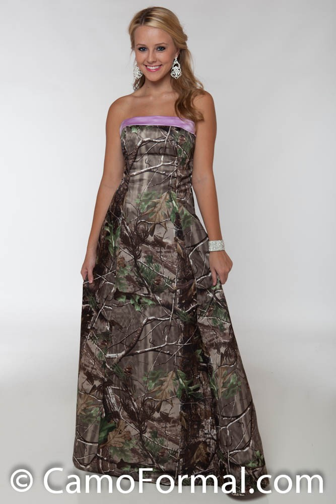 3034 Camo Prom Or Wedding Dress Camouflage Prom Wedding