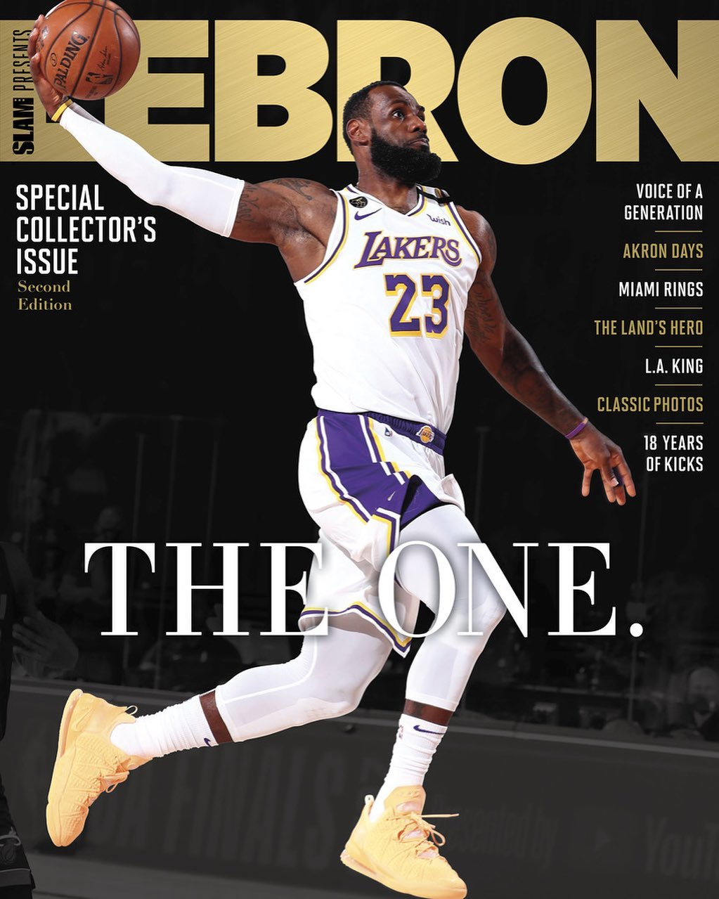 SLAM Presents LEBRON: 2nd Edition Is Available Now