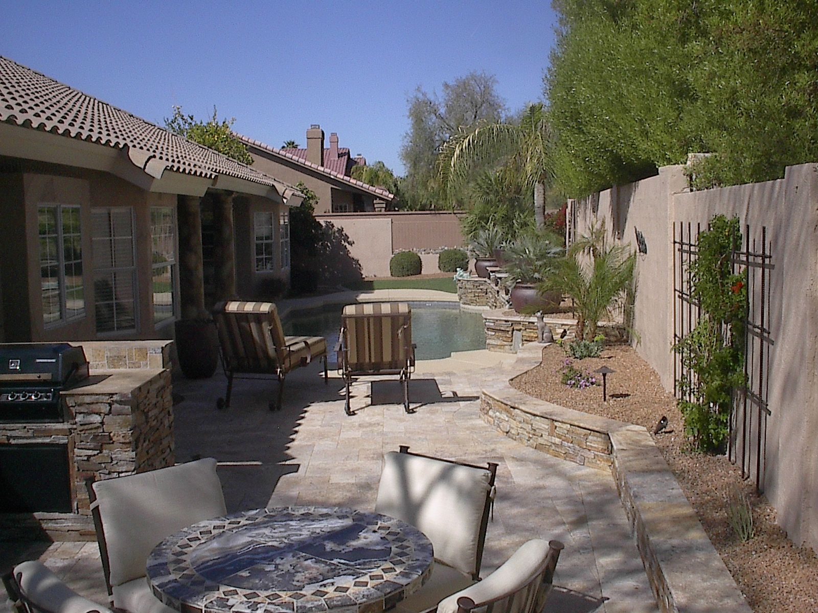 Arizona Landscape Contractor - Prestige Landscapes on Backyard Desert Landscaping Ideas On A Budget  id=65062