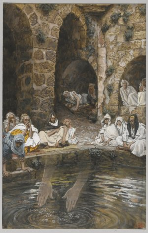 Image result for The Healing at Bethesda famous painting