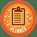 Planner Badge