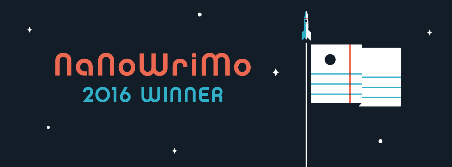 Winner NaNoWriMo 2016