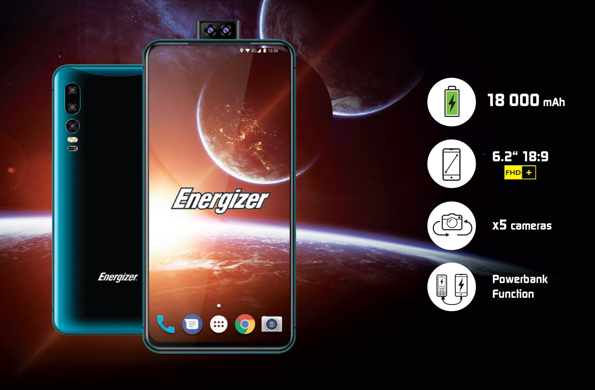 Energizers Smartphone With An 18000 MAh Battery Is Thick Shacknews
