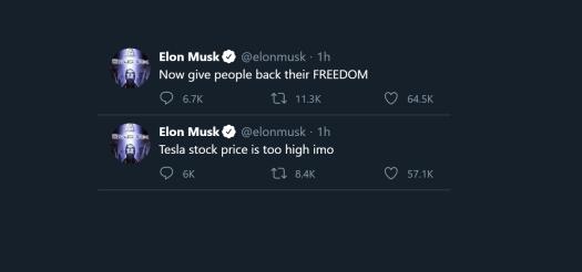 Elon Musk Twitter meltdown tanks Tesla (TSLA) stock ...