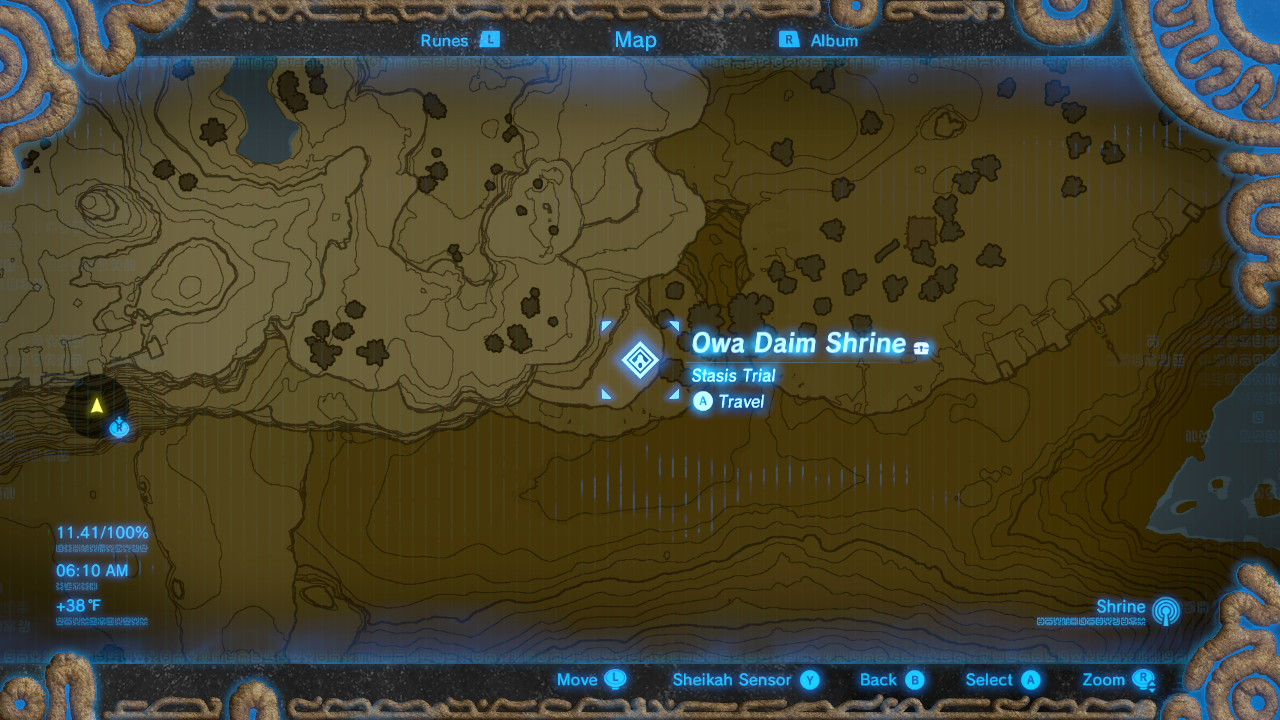 ... BotW Shrine Locations Map Find Complete All Gerudo Desert All Shrine  Locations Zelda Breath Of The Wild Zelda Breath Of The Wild All Shrines  Locations ...