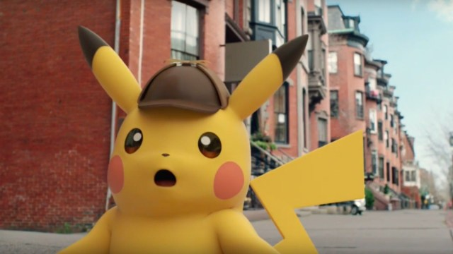 Detective Pikachu surprised screenshot