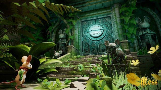 moss video game screenshot