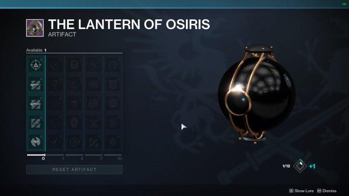 destiny 2 linterna de osiris mods