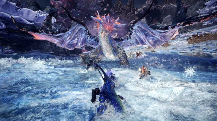 Monster Hunter World: Iceborne: regiones de nivel en tierras de guía
