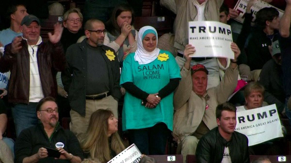Muslim Woman Protesting Trump's Hate Speech Kicked Out of ...