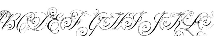 Parfumerie Script Decorative Font Uppercase