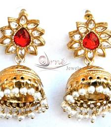 Buy Kashmiri Gold Jhumas jhumka online