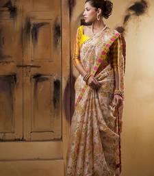 Aavaranaa MulticolourOrganza silk sarees shop online