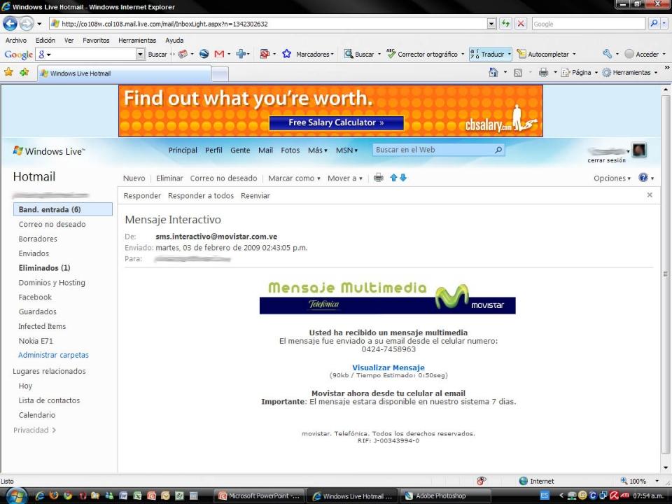Alerta - Phishing (robo de claves) en Banesco (2/6)