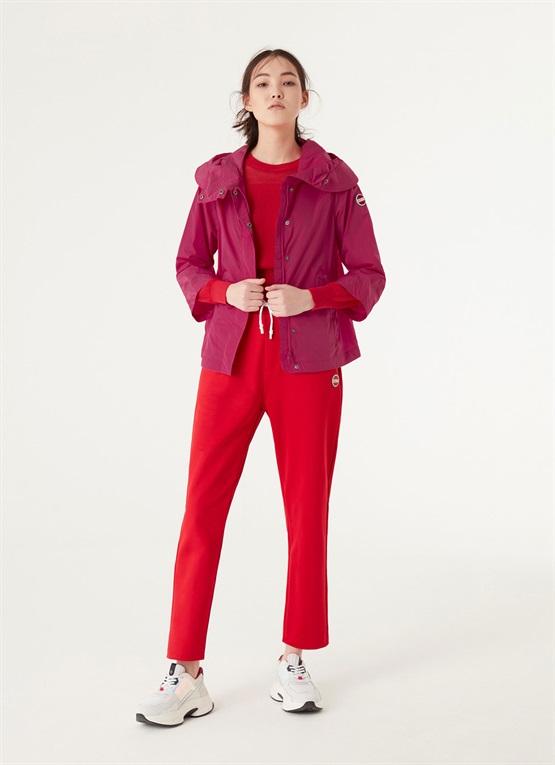 giacca packable effetto stropicciato