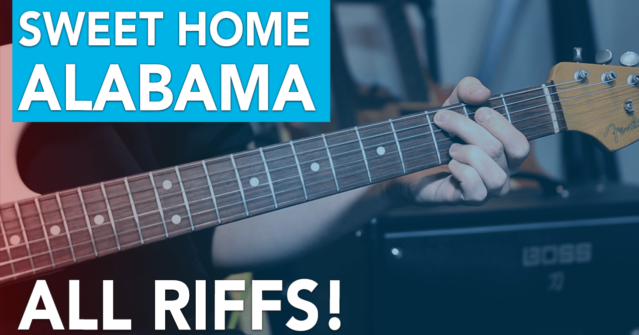 Here's a quick lesson on how to play sweet home alabama by lynyrd skynyrd with only 3. Lynyrd Skynyrd Sweet Home Alabama Intro All Riffs Andy Guitar