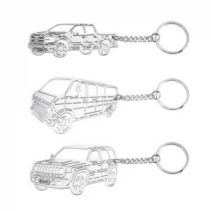 Personalized Car Keychain