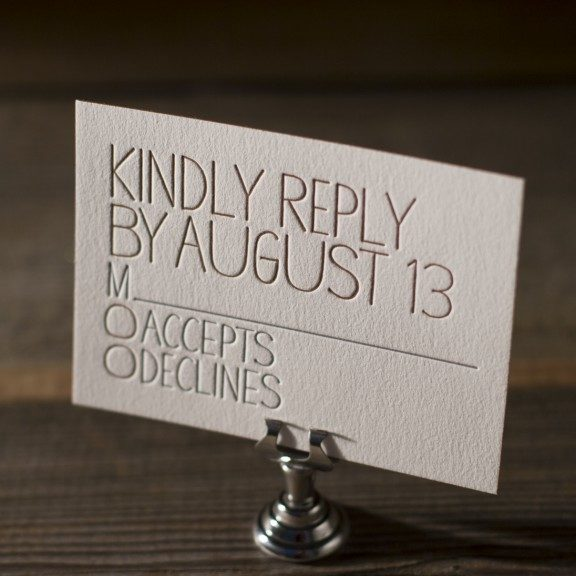 Print Wedding Save Dates