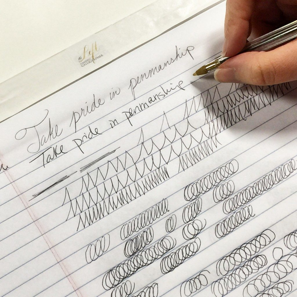 Traditional Penmanship Classes By Nicole Black