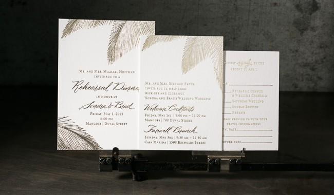 And Wedding Black Trees White Invitations