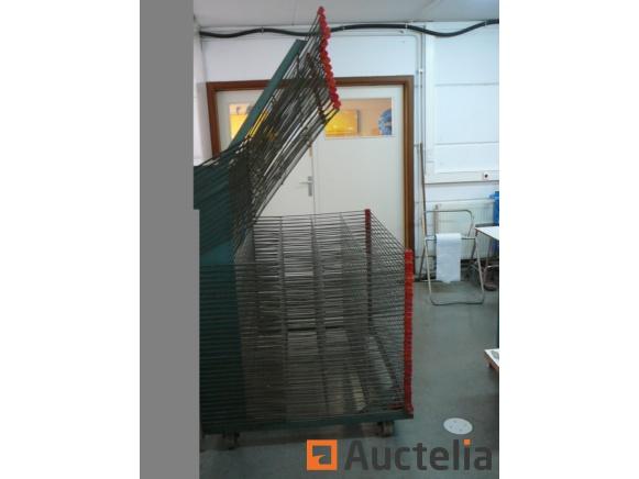 screen printing drying rack