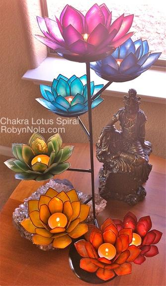 Chakra Lotus Spiral Inspirational Chakra Gifts Robyn