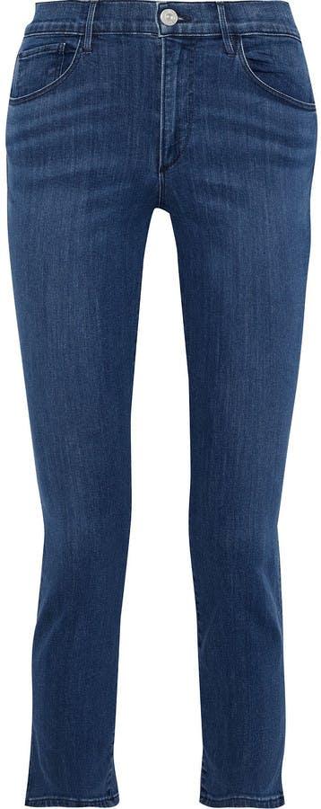 Luna Cropped High-rise Slim-leg Jeans