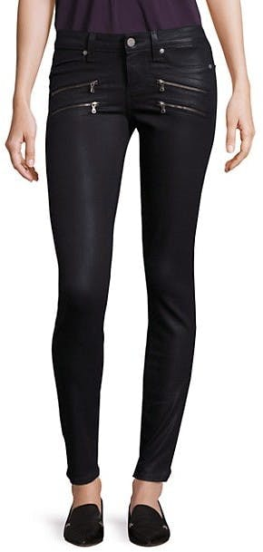 Edgemont Ultra Skinny Coated Jeans