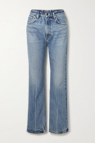 The Martin High-rise Straight-leg Jeans - Light denim