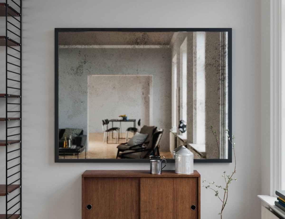 Classic Antiqued Mirror