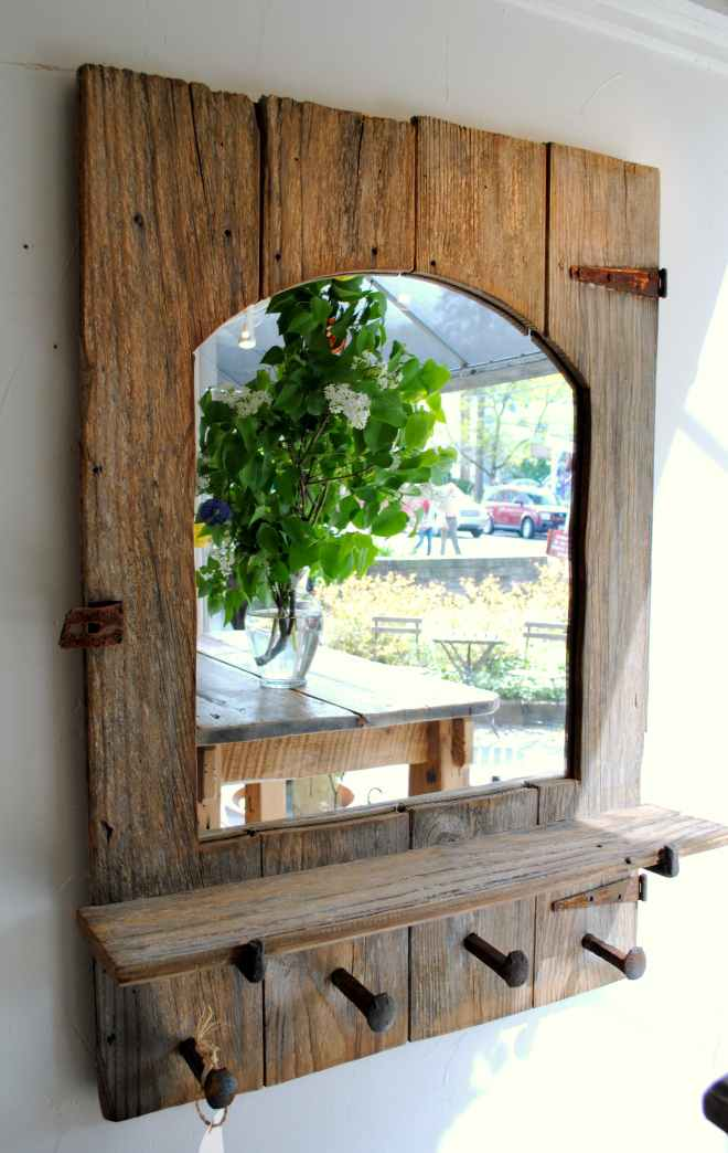 Rustic Farmhouse Mirror