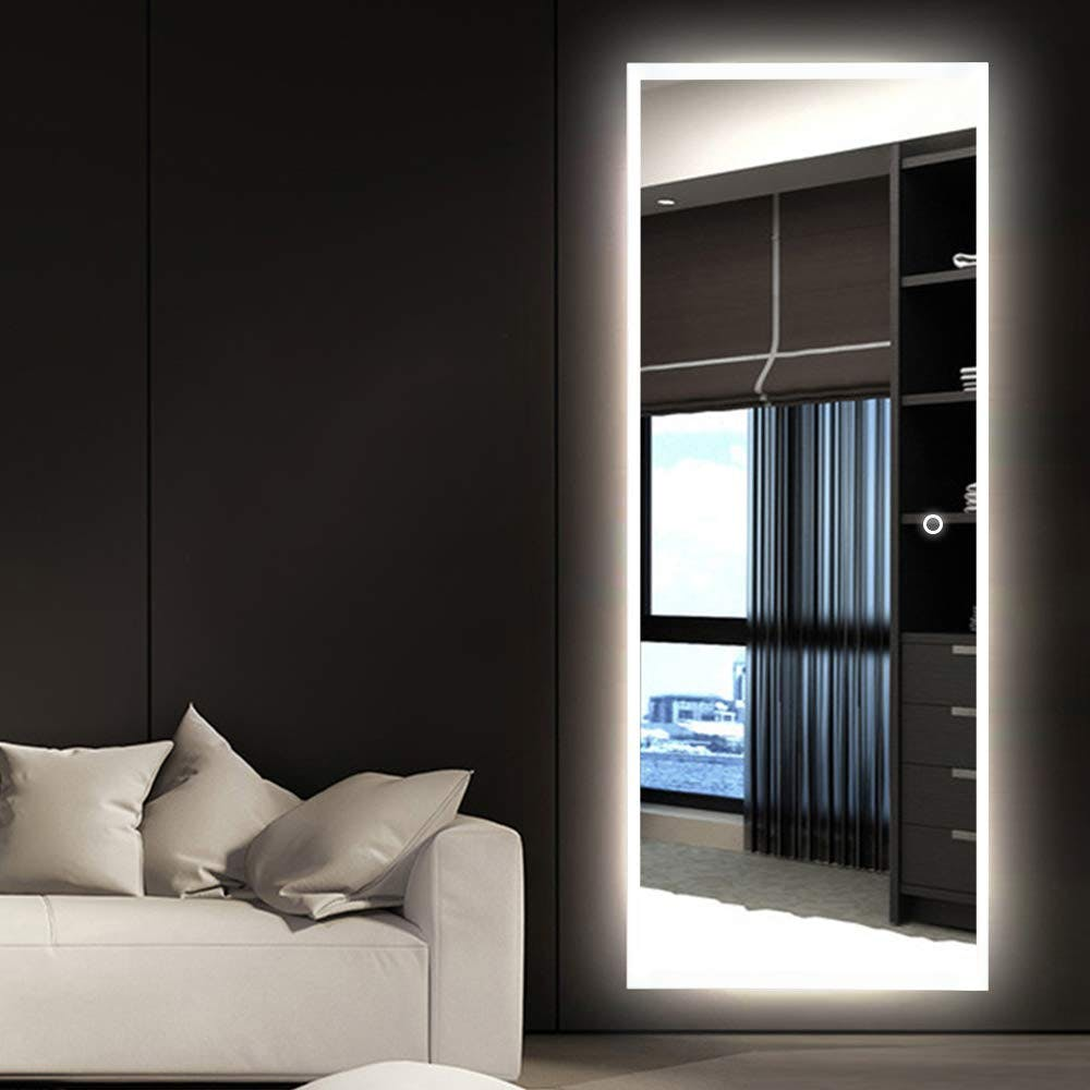 full length mirror, lighted mirror