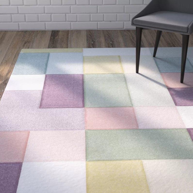 contemporary, area rug