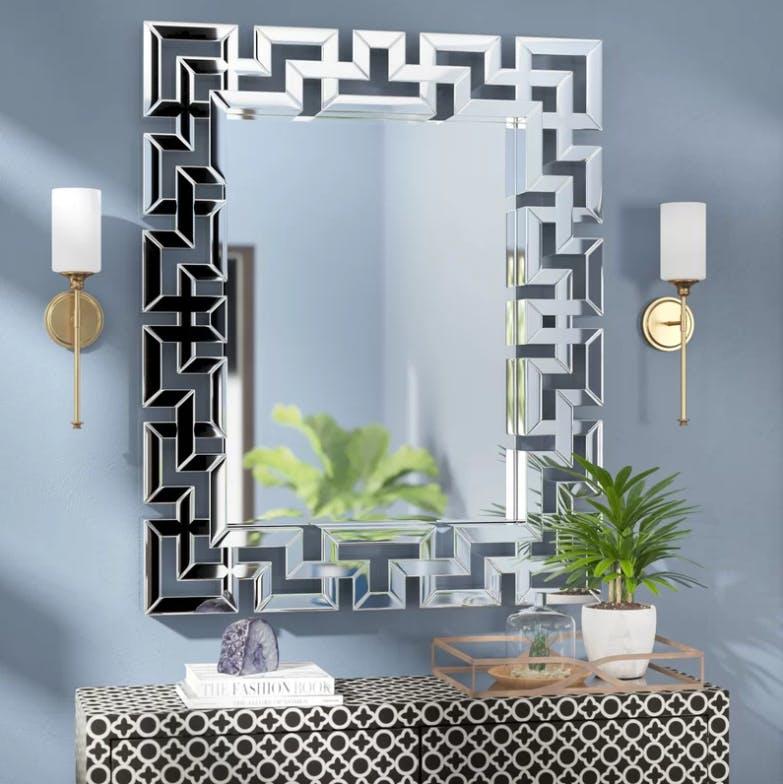 Wayfair, mirror, Art Deco