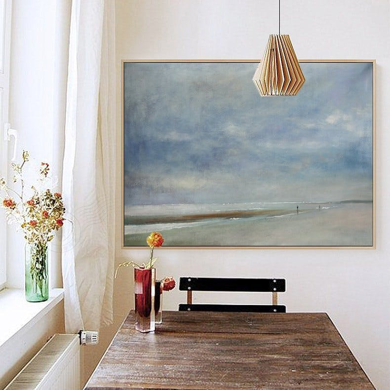 etsy, painting, landscape, wall art