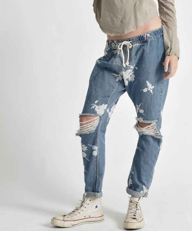 Shabbies Drawstring Pants in Havanna