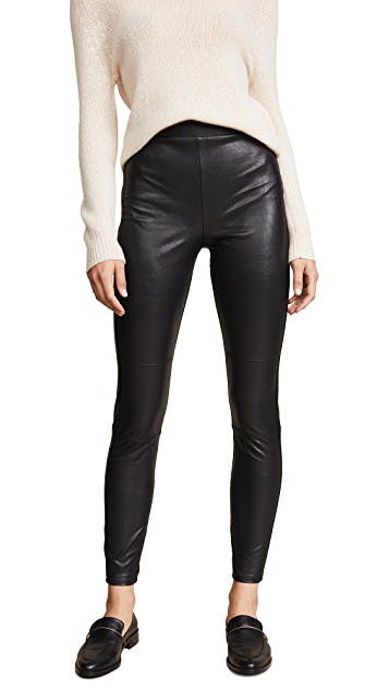 Downtown Faux Leather Leggings