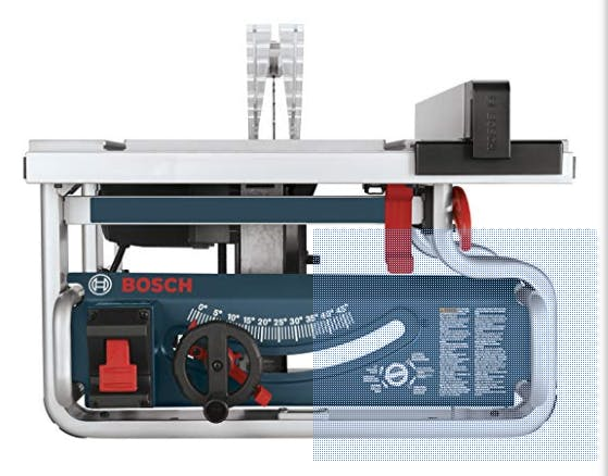 BOSCH GTS1031 STEEL-BASE JOBSITE TABLE SAW