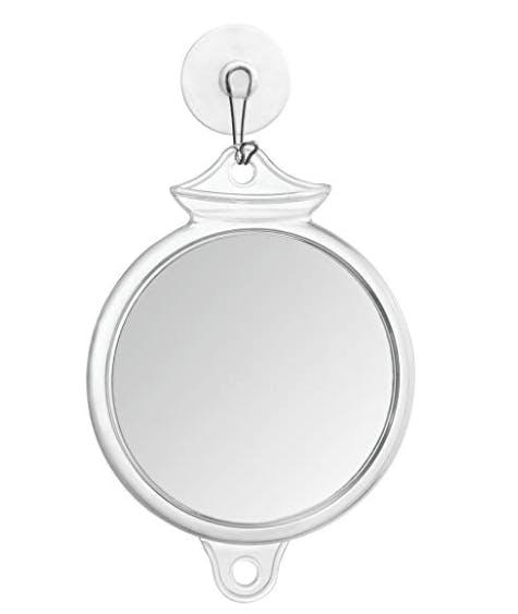 Suction Fog Free Shower Shaving Mirror