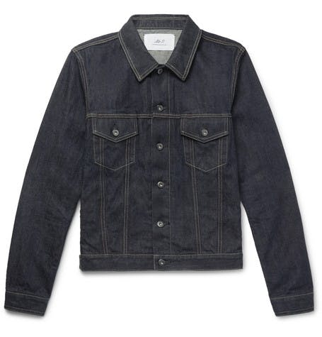 mr p., mr porter, denim jacket, selvedge denim, raw denim, denimblog