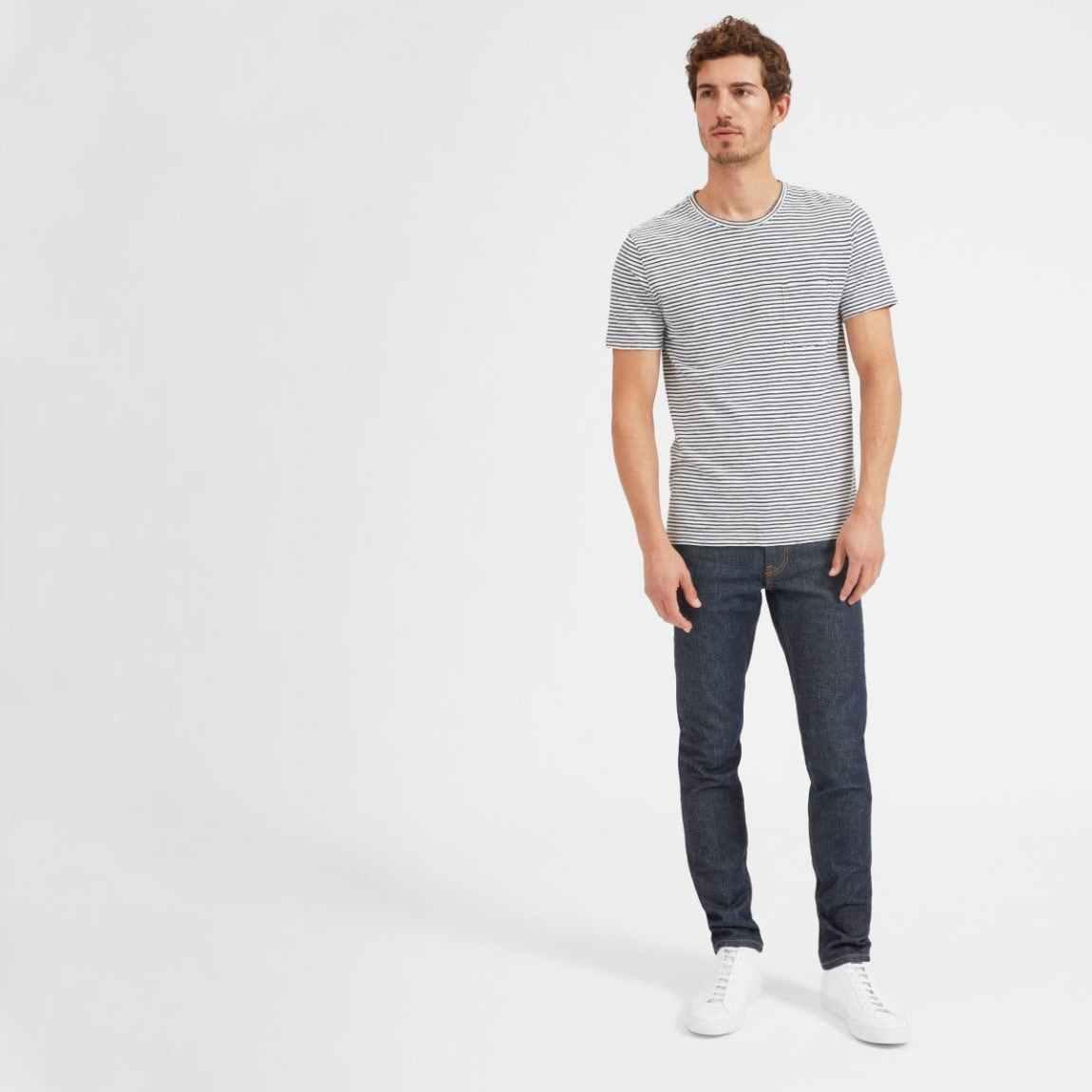 everlane, everlane jeans, everlane denim, japanese denim, slim jeans, raw jeans, straight jeans, denimblog, denim blog