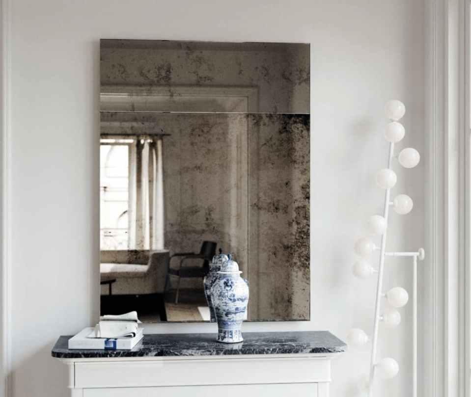 Trumeau Style Mirror